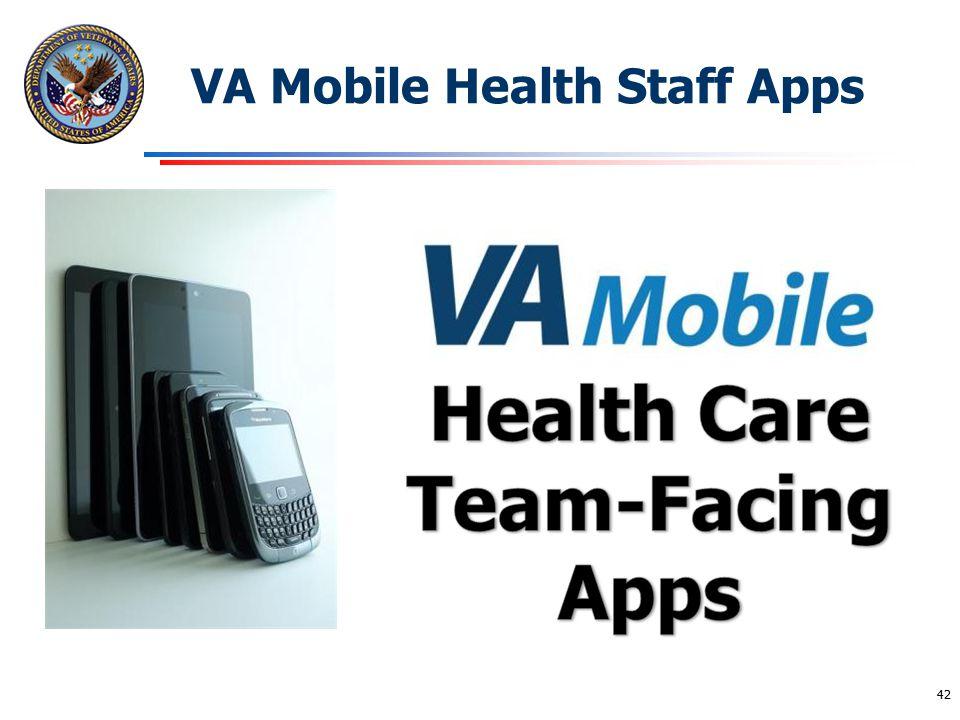 VA Mobile Health Staff Apps
