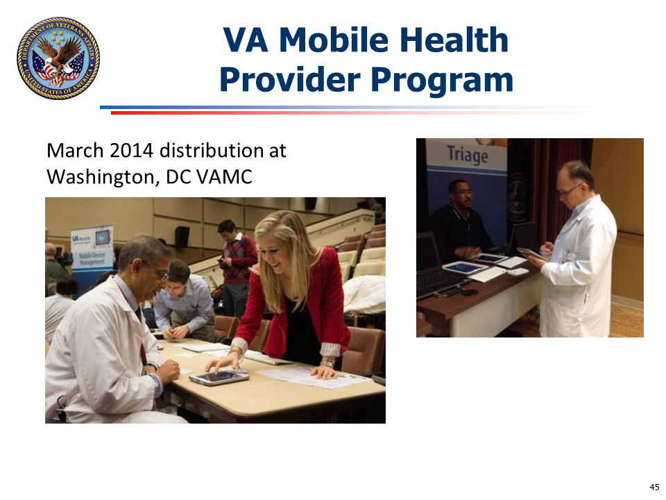 VA Mobile Health Provider Program