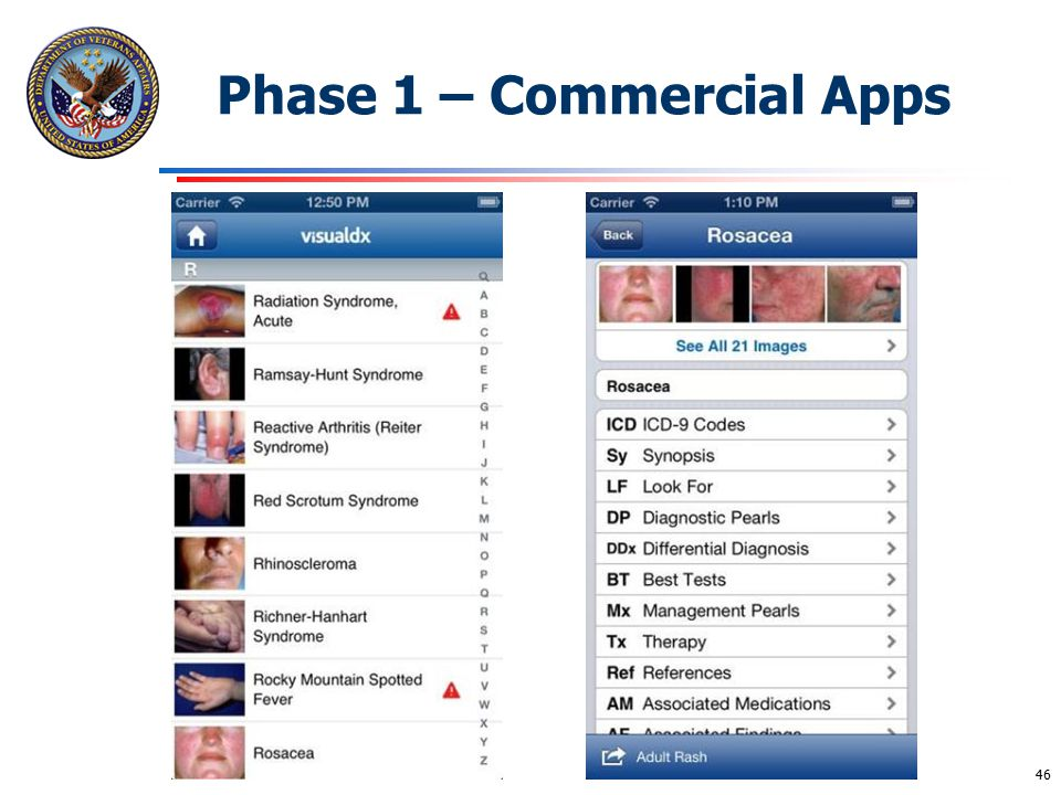 Phase 1 – Commercial Apps