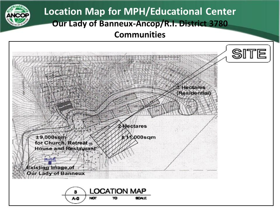 Location Map for MPH/Educational Center