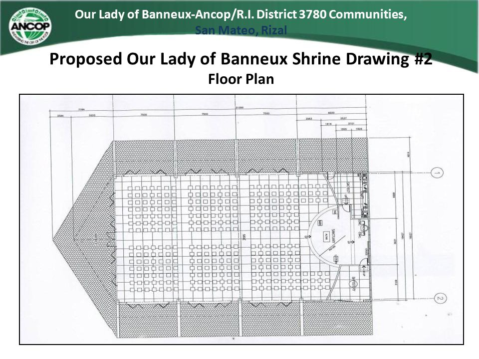 Proposed Our Lady of Banneux Shrine Drawing #2