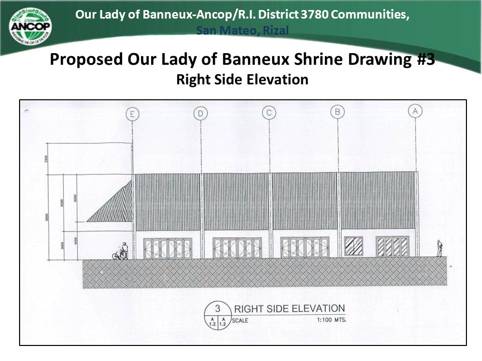 Proposed Our Lady of Banneux Shrine Drawing #3