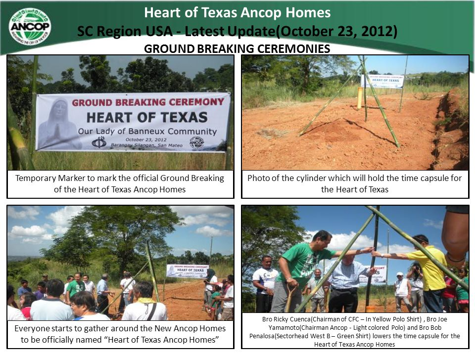 Heart of Texas Ancop Homes