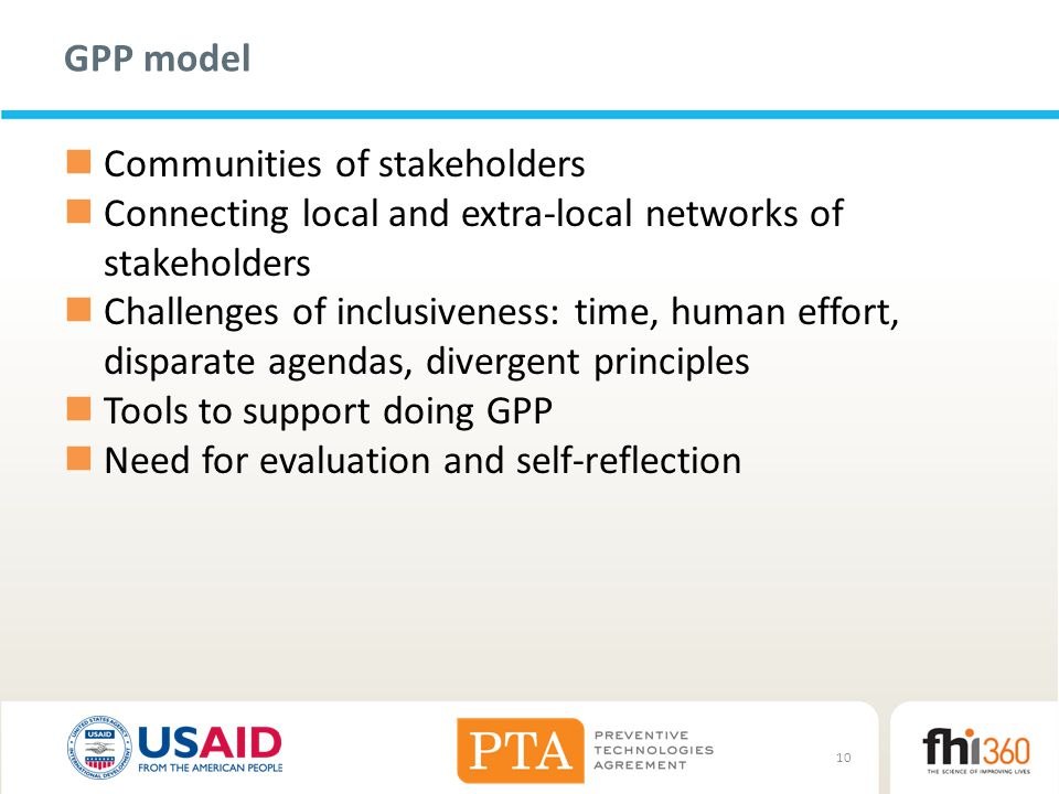 Communities of stakeholders