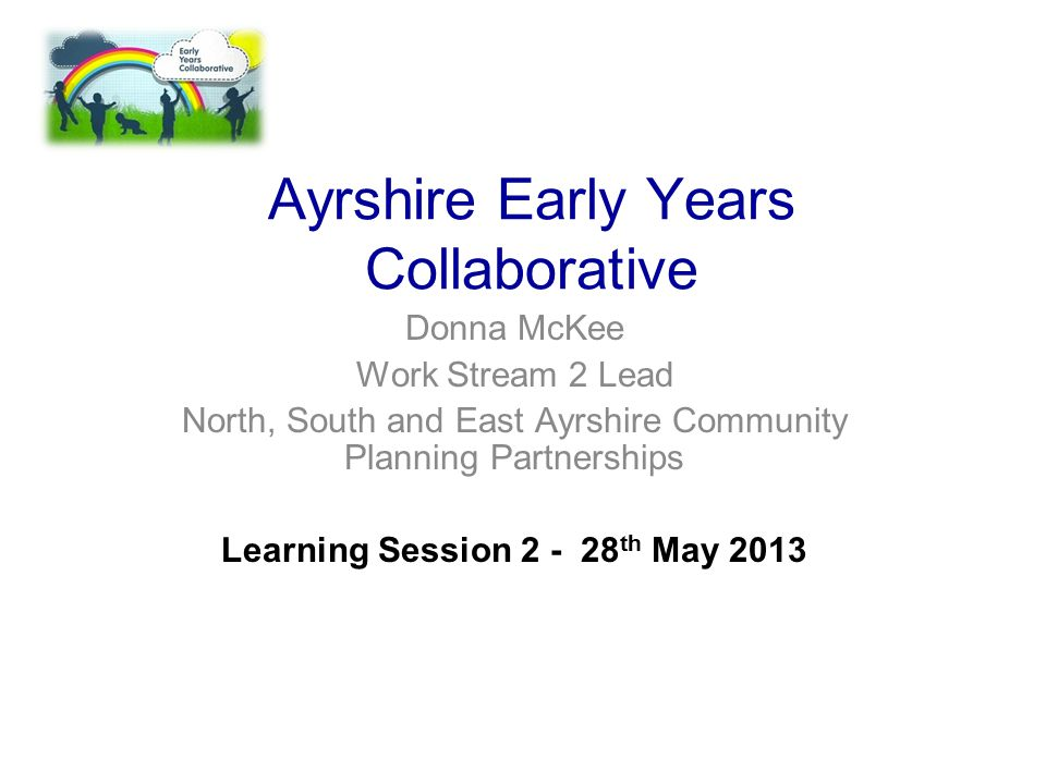 Ayrshire Early Years Collaborative