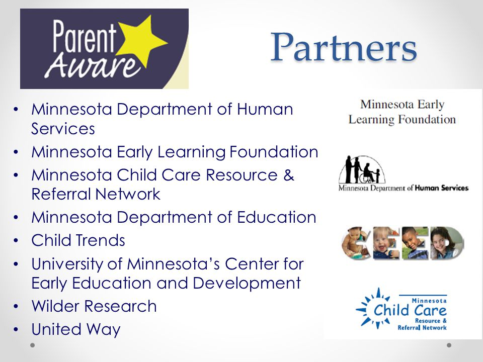 Partners Minnesota Department of Human Services