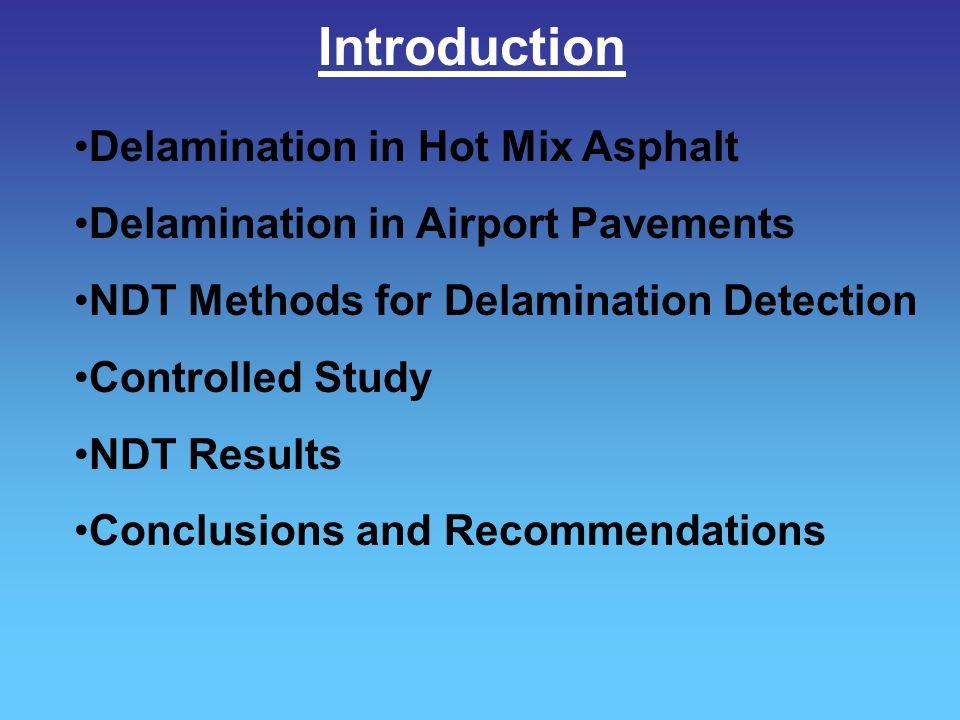 Introduction Delamination in Hot Mix Asphalt