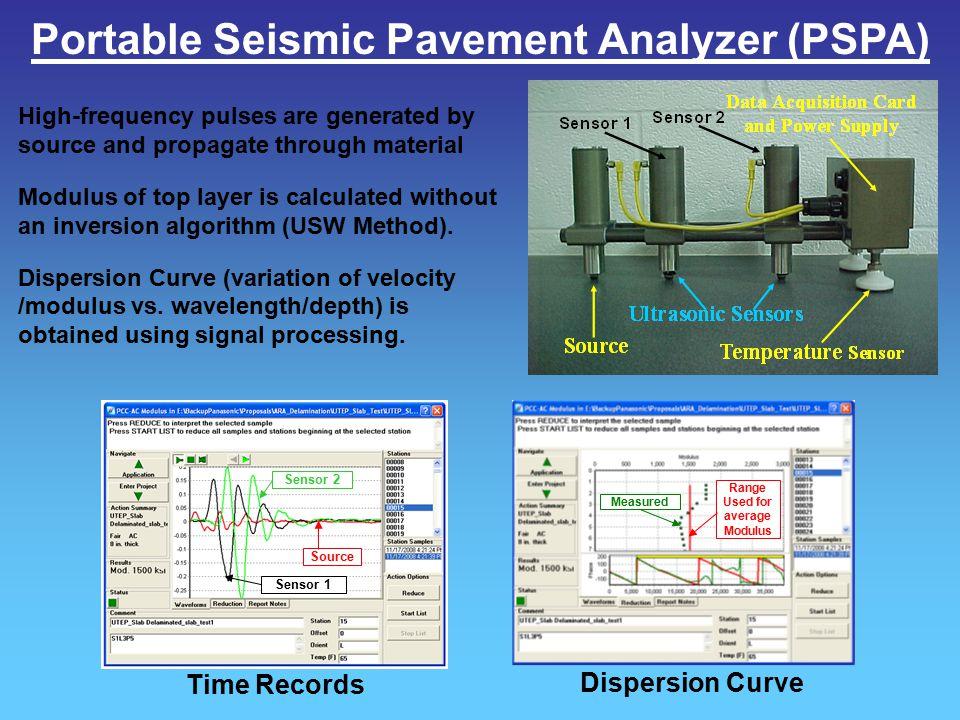 Portable Seismic Pavement Analyzer (PSPA)