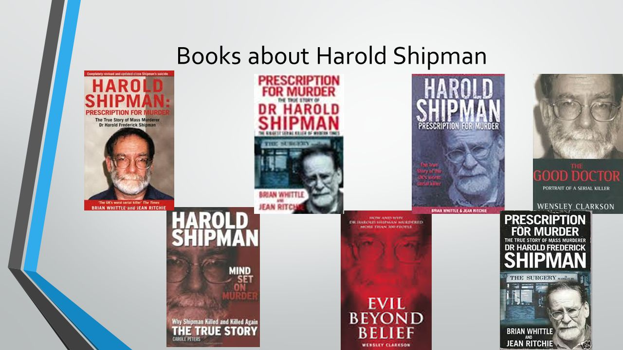 Books about Harold Shipman