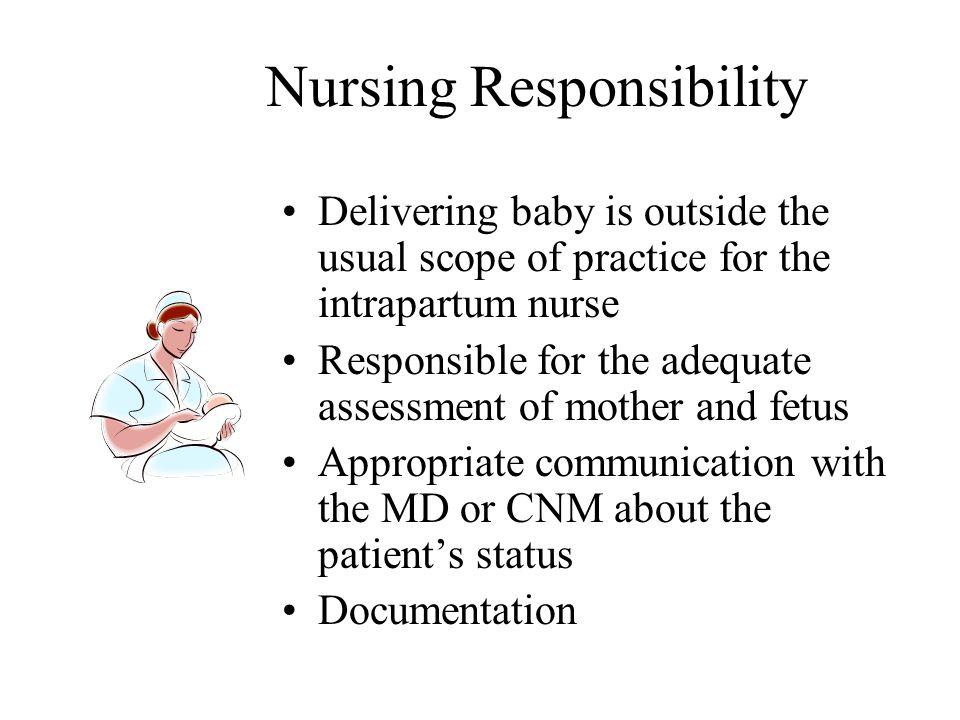 Nursing Responsibility