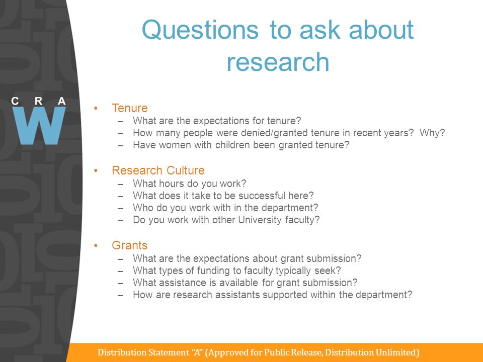 Questions to ask about research