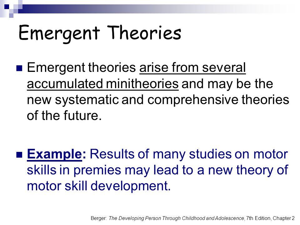 Emergent Theories
