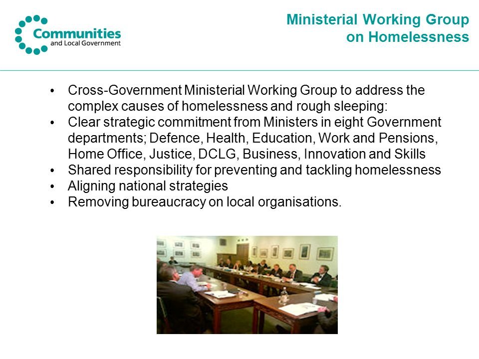 Ministerial Working Group on Homelessness