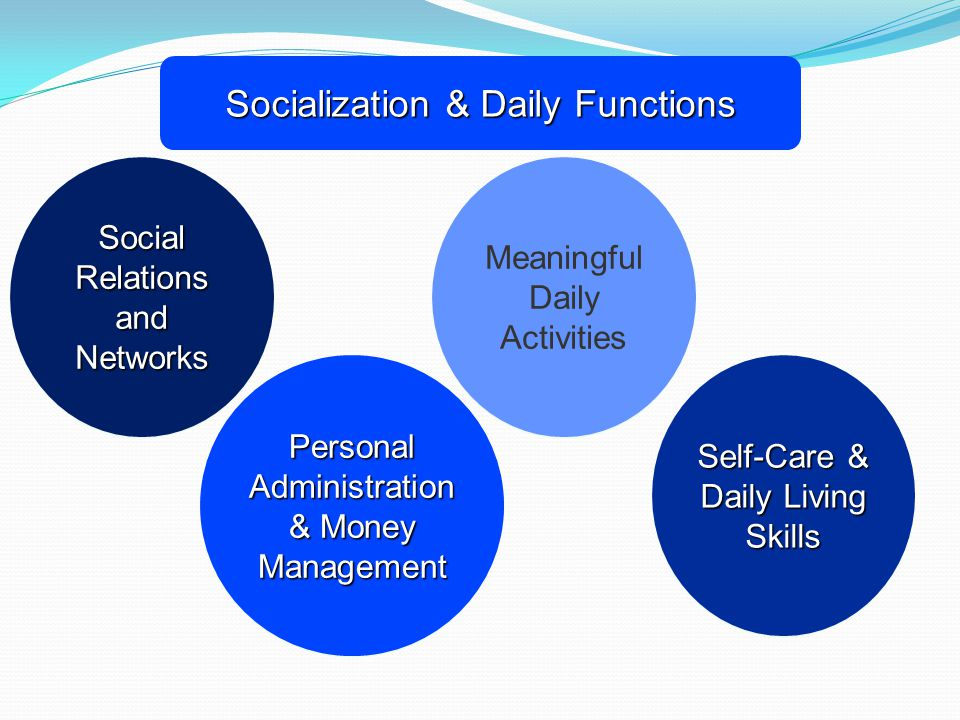 Socialization & Daily Functions