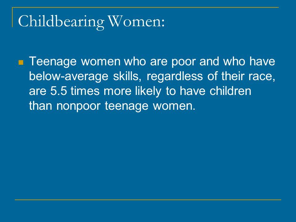Childbearing Women: