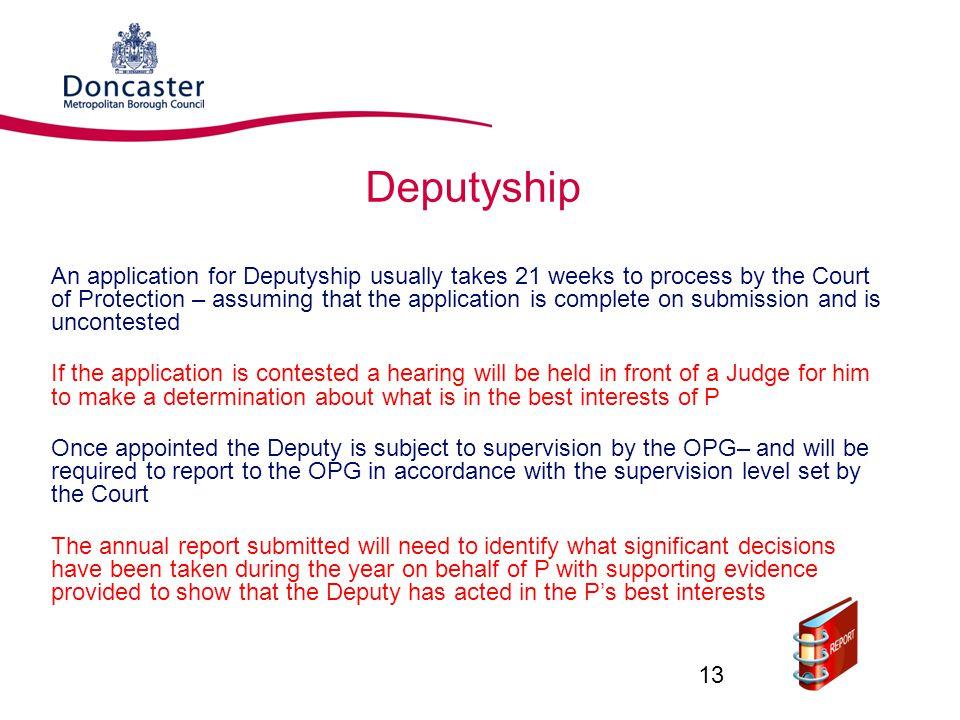 Deputyship
