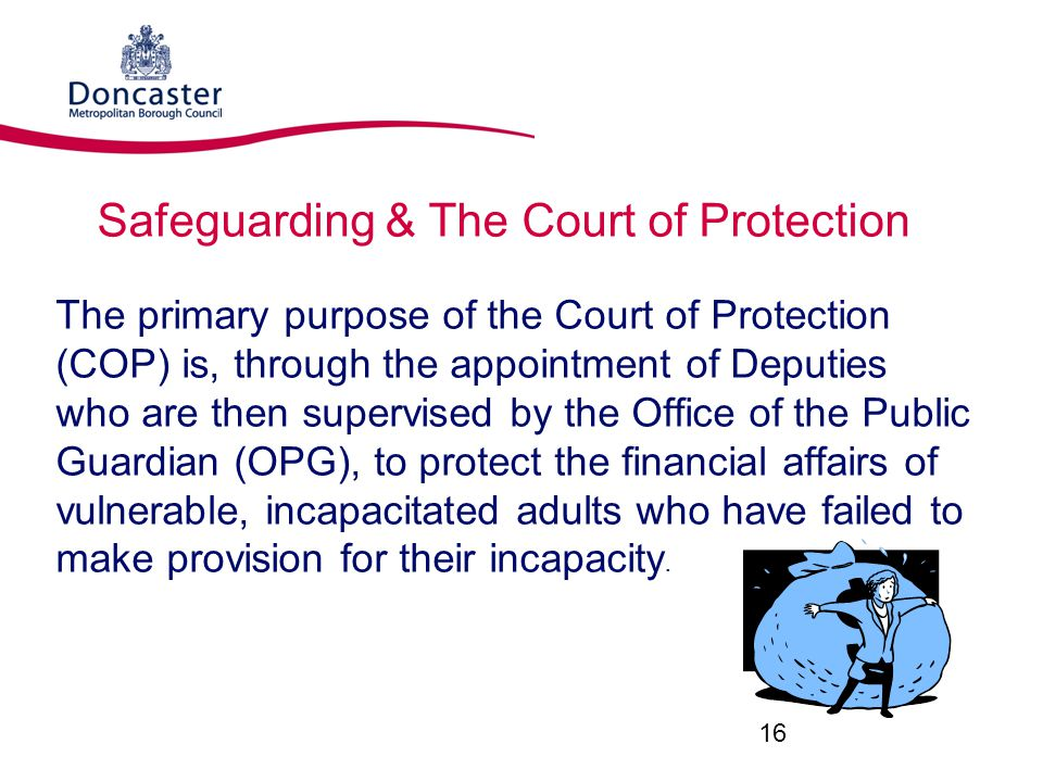Safeguarding & The Court of Protection