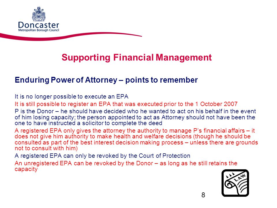 Supporting Financial Management