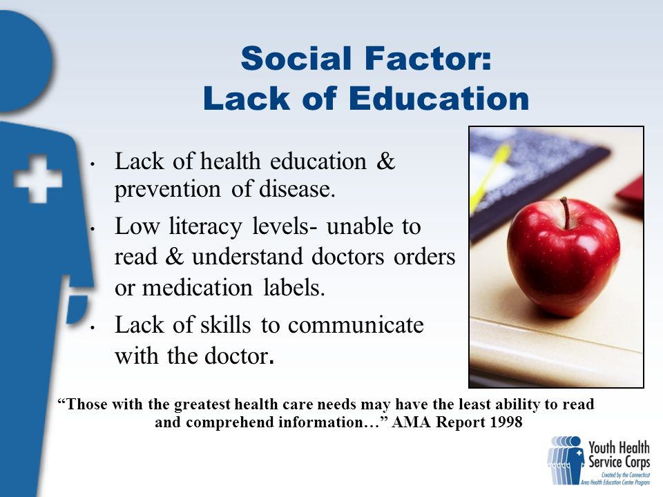 Social Factor: Lack of Education