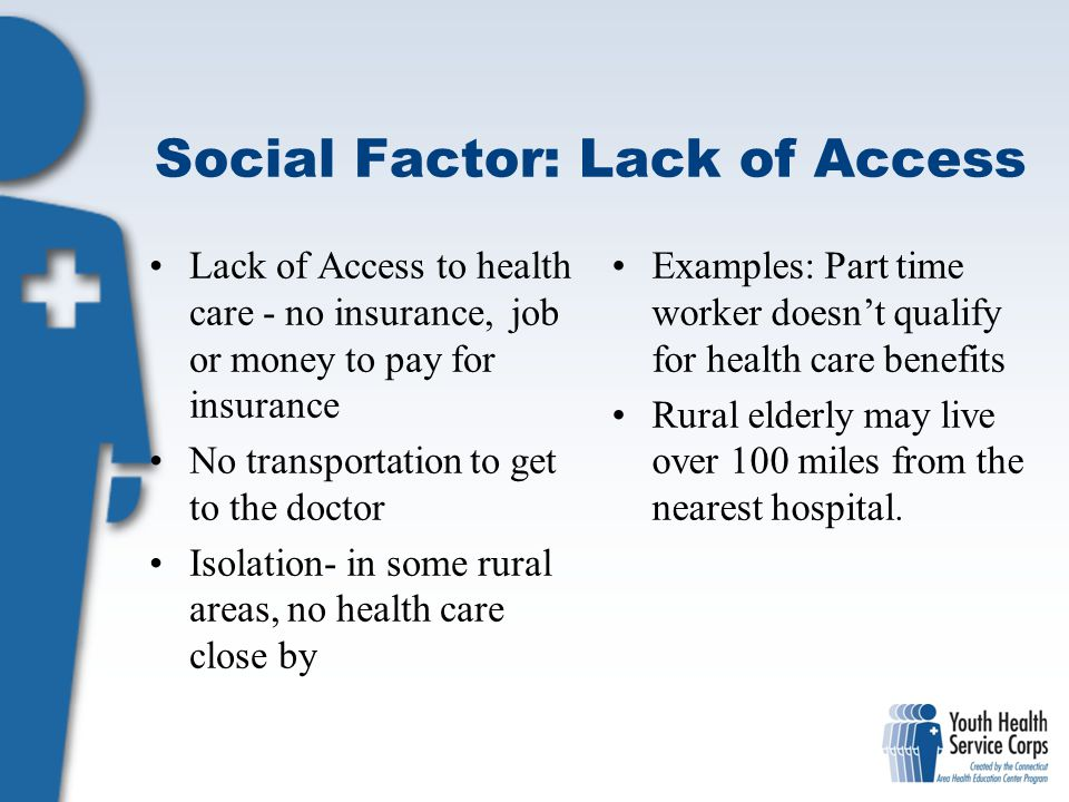 Social Factor: Lack of Access