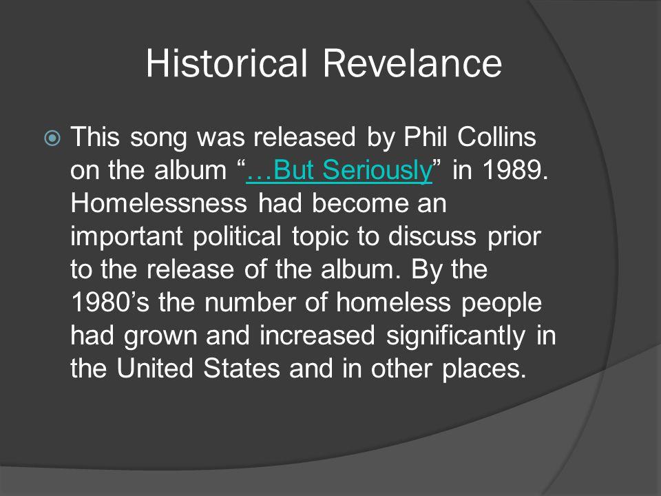 Historical Revelance