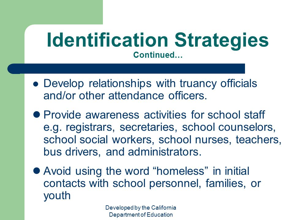 Identification Strategies Continued…