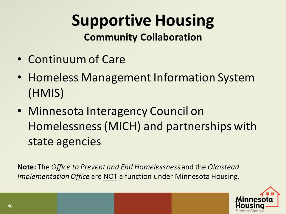 Supportive Housing Community Collaboration