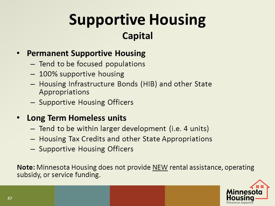 Supportive Housing Capital