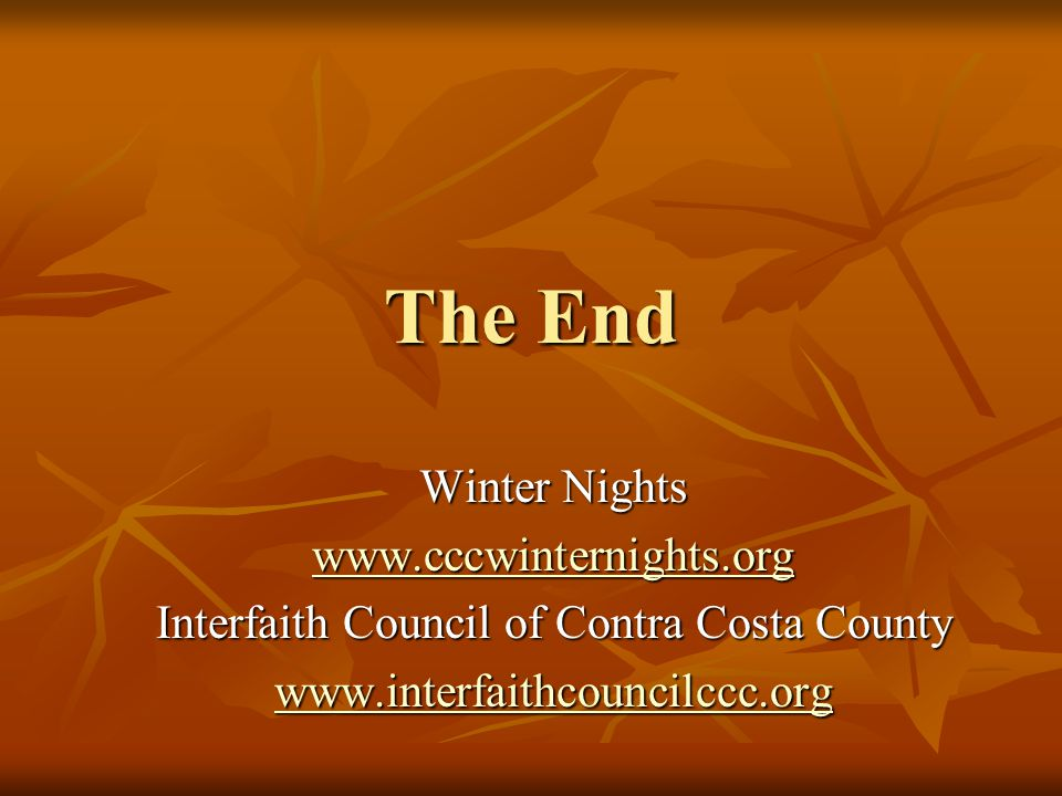 Interfaith Council of Contra Costa County
