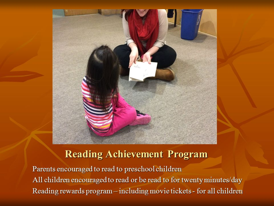 Reading Achievement Program