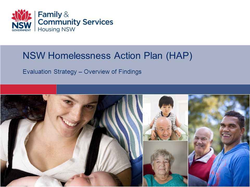 NSW Homelessness Action Plan (HAP)