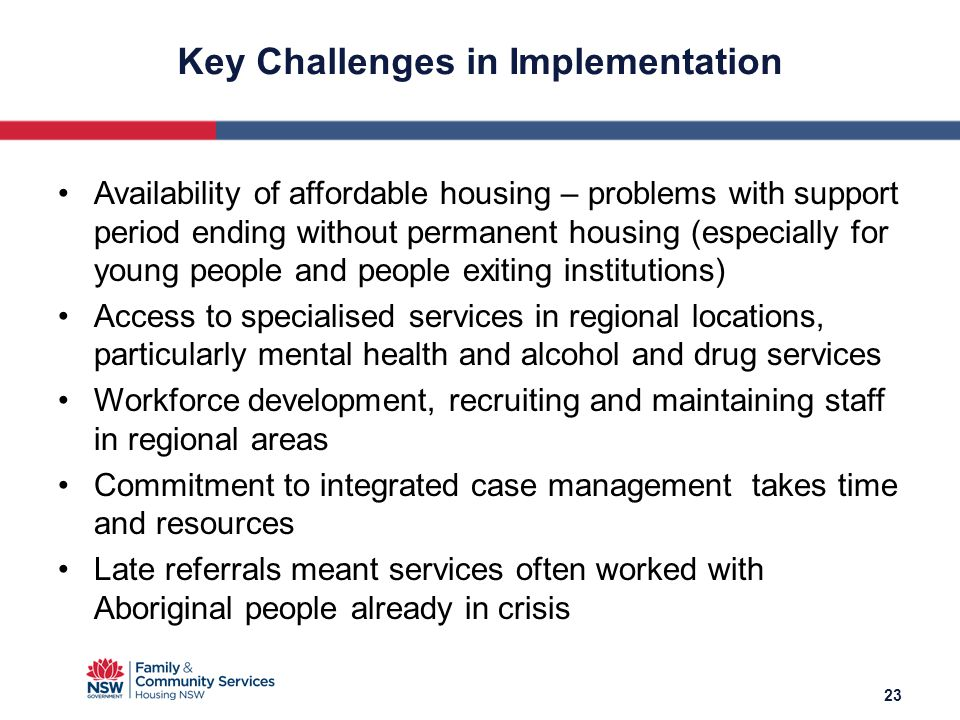 Key Challenges in Implementation