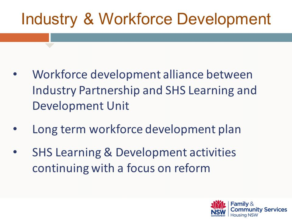 Industry & Workforce Development
