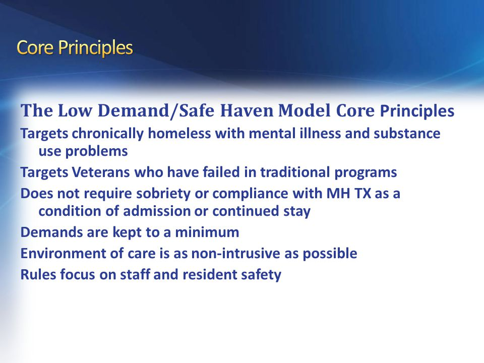 Safe Havens and the Five Year Plan