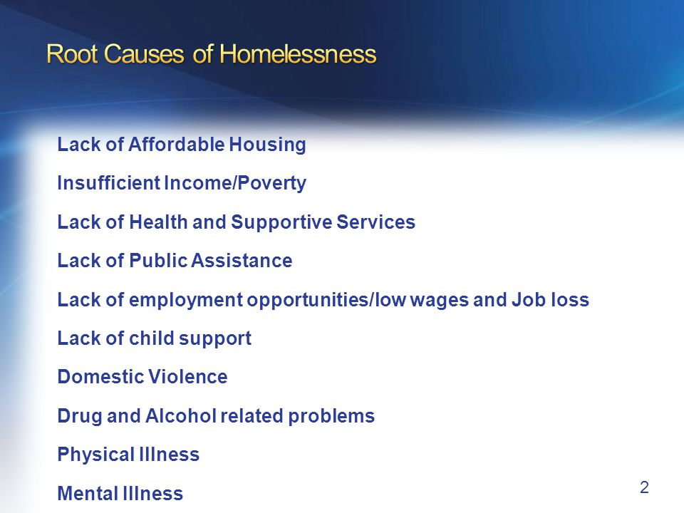 Veteran Demographics The Average Homeless Veteran: