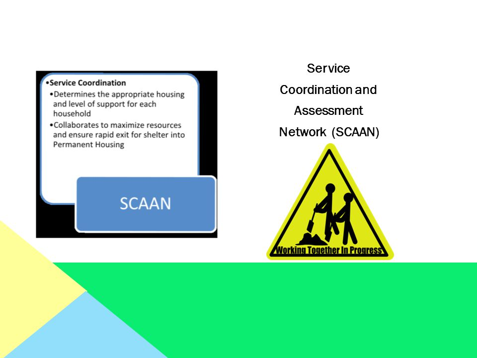 Service Coordination and Assessment Network (SCAAN)
