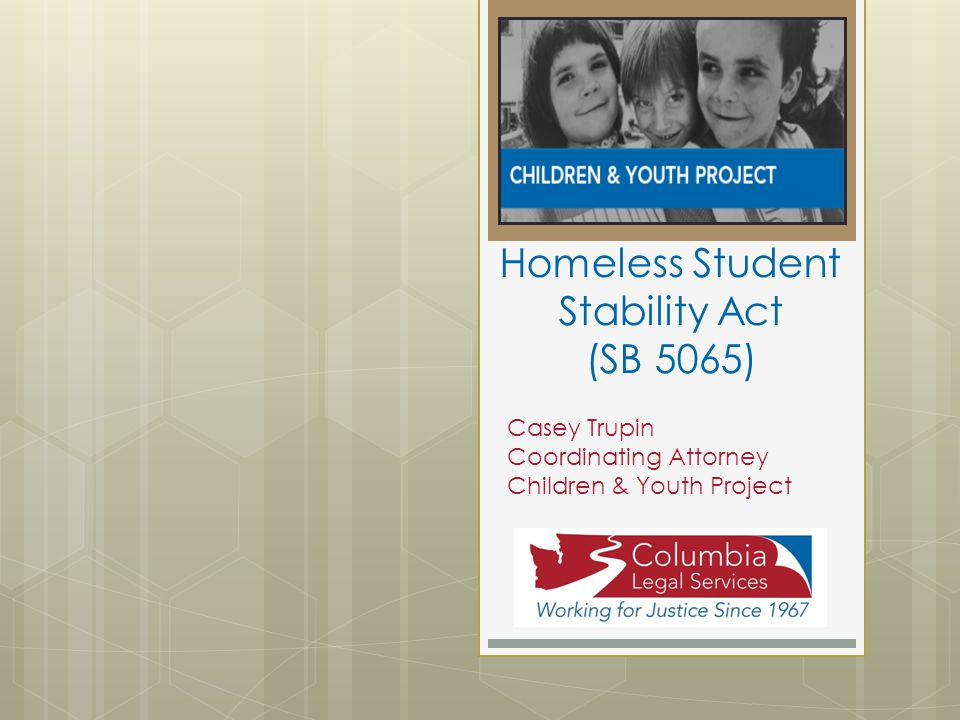 Homeless Student Stability Act (SB 5065)
