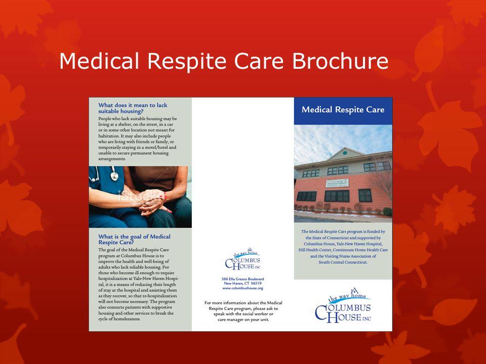Medical Respite Care Brochure