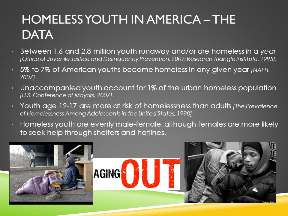 Homeless youth in America – the data