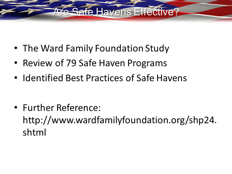 Are Safe Havens Effective