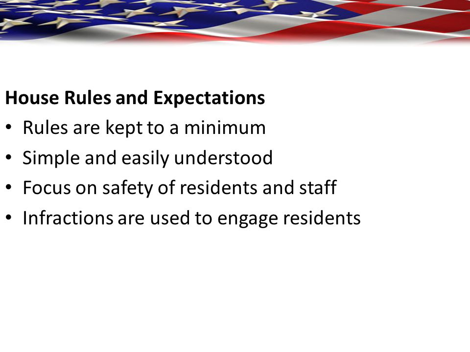 House Rules and Expectations