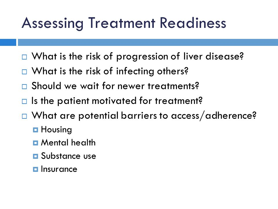 Assessing Treatment Readiness