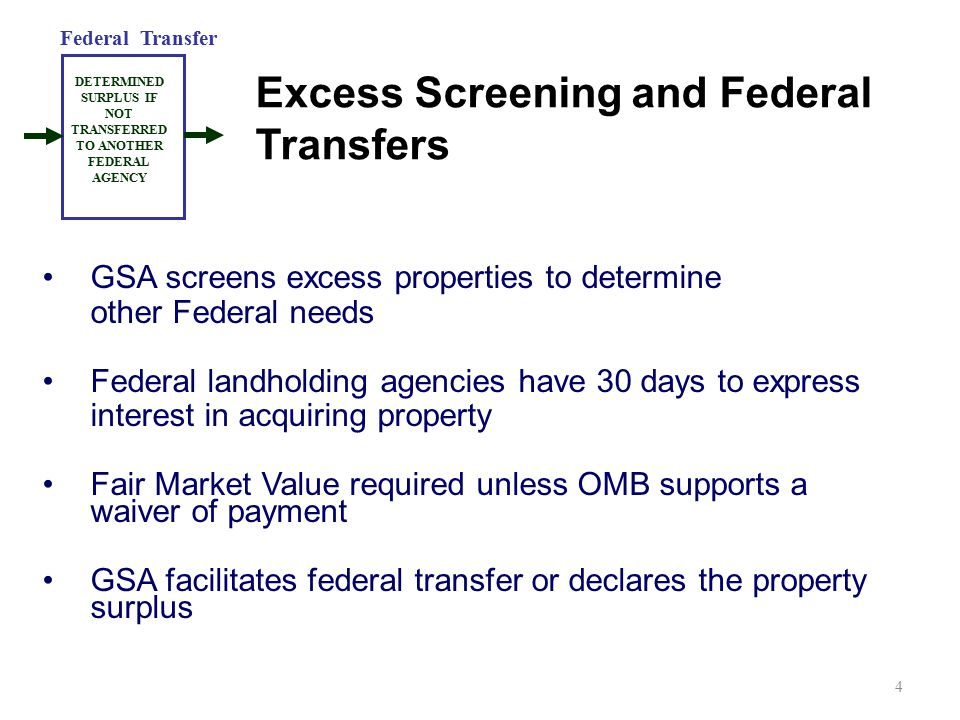 Excess Screening and Federal Transfers