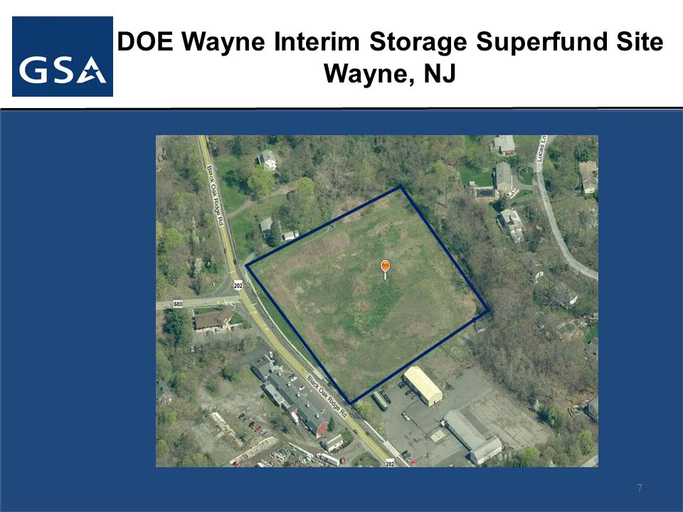 DOE Wayne Interim Storage Superfund Site