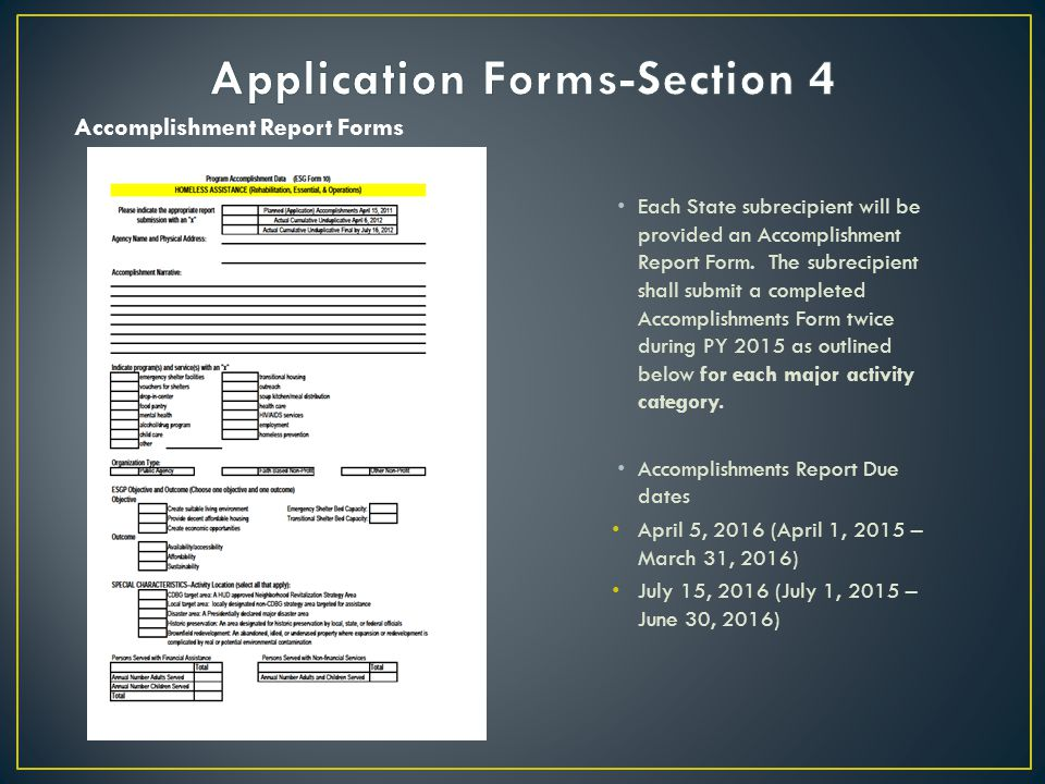Application Forms-Section 4