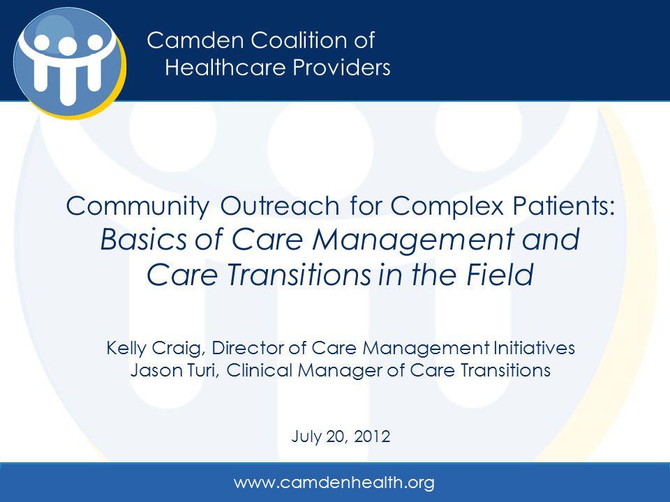 Camden Coalition of Healthcare Providers.