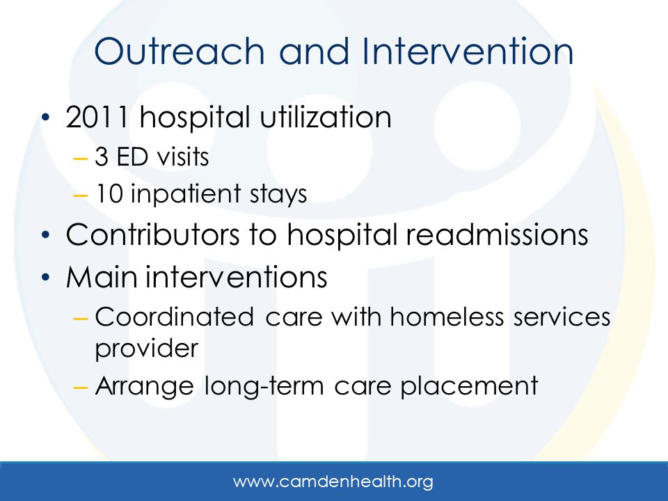 Outreach and Intervention