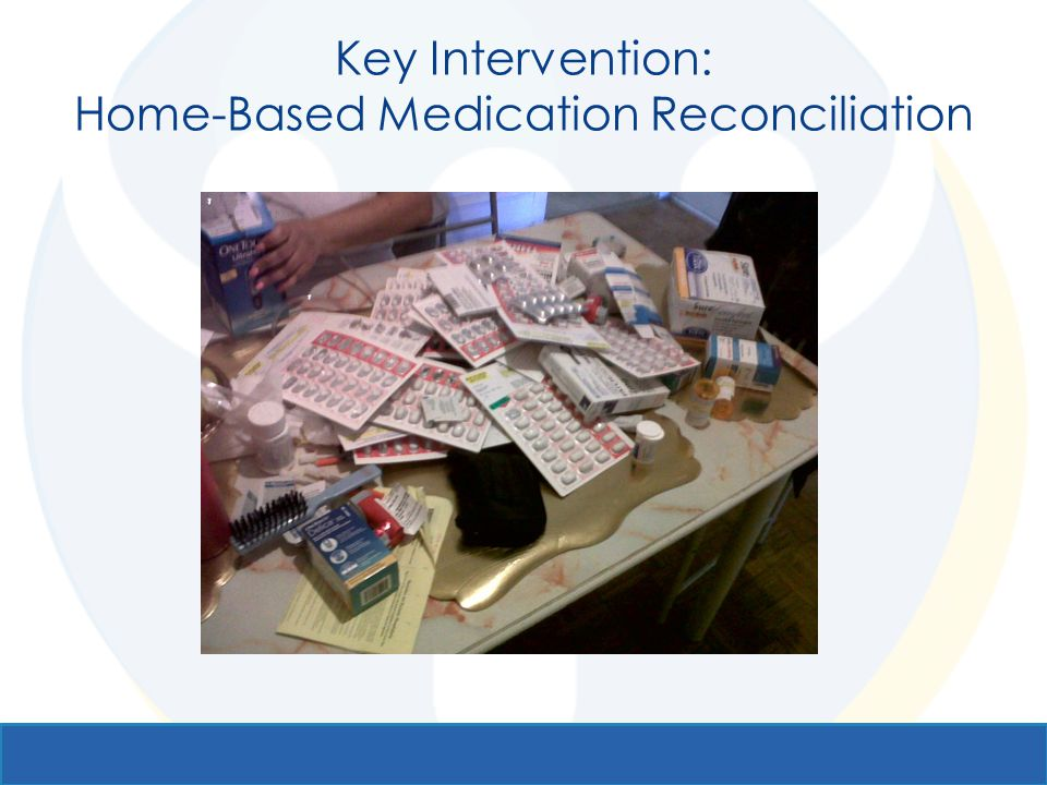 Key Intervention: Home-Based Medication Reconciliation