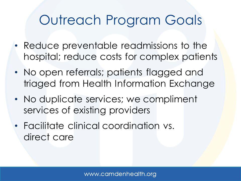 Outreach Program Goals