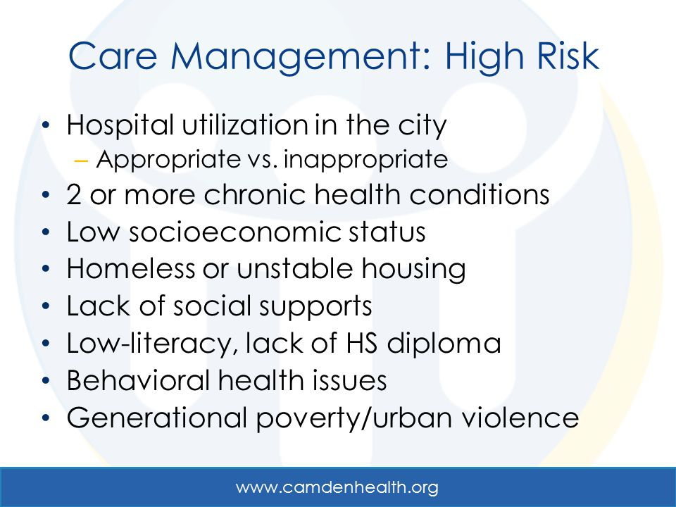 Care Management: High Risk